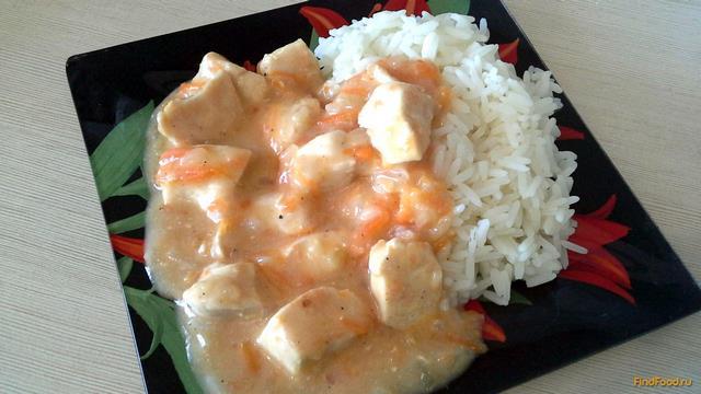 Рецепт Гуляш из куриной грудки с помидорами рецепт с фото