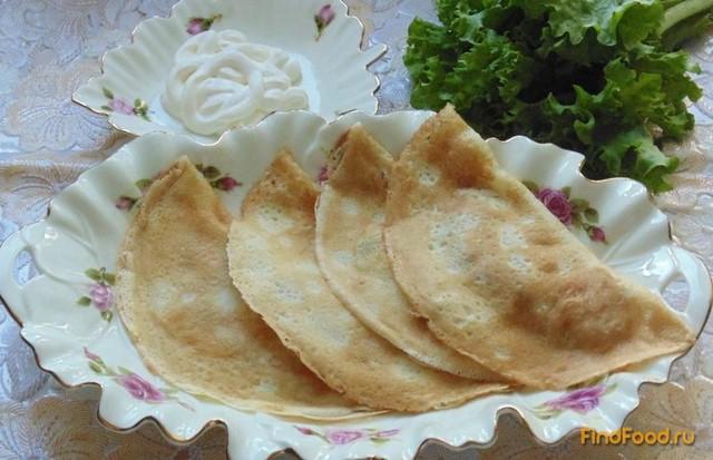 Рецепт Блинчатые пирожки рецепт с фото