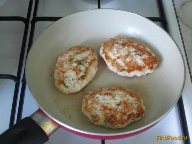 рецепт куриных котлет кусочками с сыром