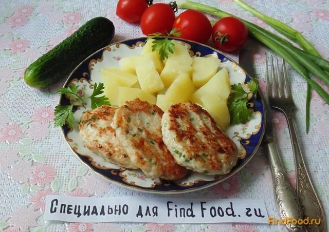 рецепт куриных котлет из фарша с сыром в духовке