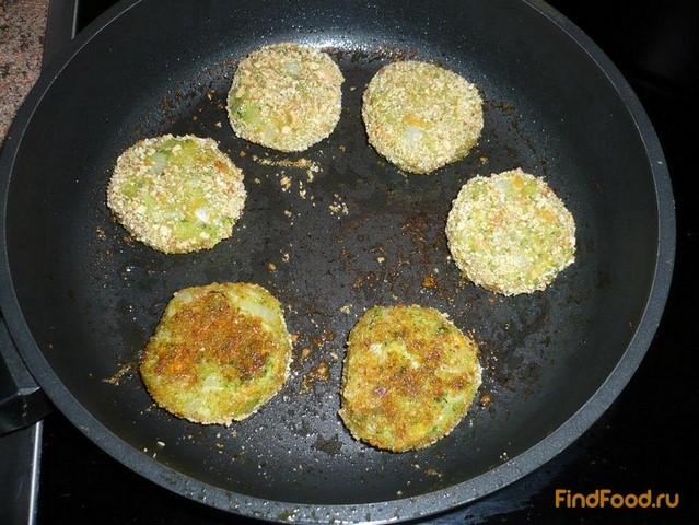 Рецепт постных овощных котлет