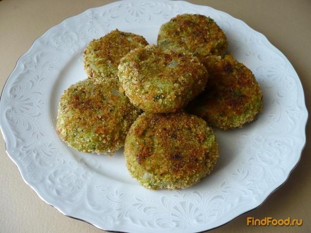 Рецепт Котлеты постные овощные с брокколи рецепт с фото