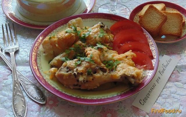Курица запеченная с цветной капустой рецепт с фото 7-го шага