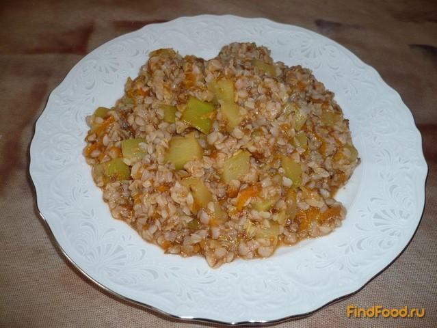 Рецепт Гречневая каша с кабачком рецепт с фото