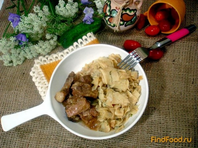 Рецепт Лазанки с капустой и мясом рецепт с фото