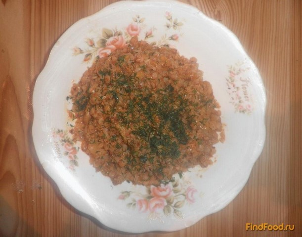 Рецепт Гречневая каша с шампиньонами рецепт с фото