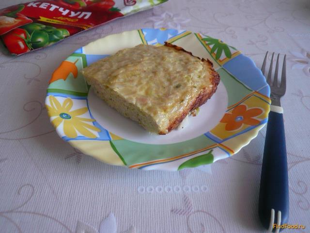 Рецепт Запеканка куриная с кабачками и рисом рецепт с фото