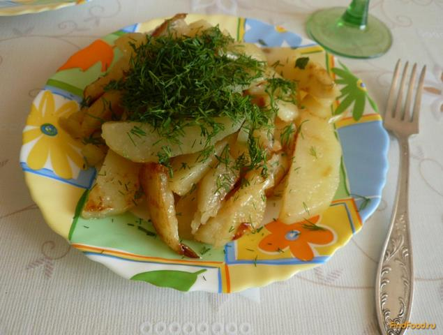 Рецепт Картофель с луком и укропом рецепт с фото