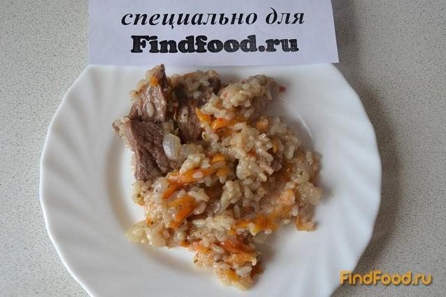 Рецепт Домашний плов со свининой рецепт с фото