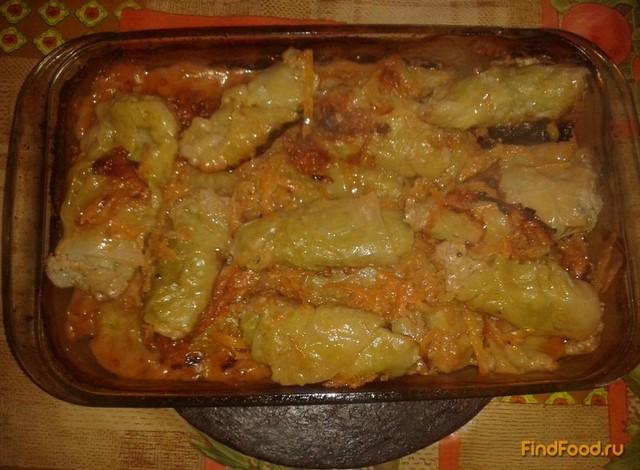 Рецепт Голубцы запеченные в духовке рецепт с фото
