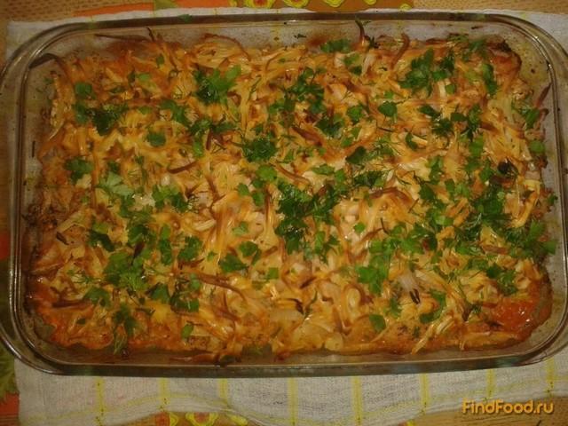 Рецепт Запеканка из двух видов капусты рецепт с фото