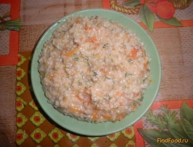 Рецепт Пшенная каша с зеленью рецепт с фото