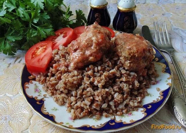 Рецепт Котлеты с овсянкой в соусе рецепт с фото