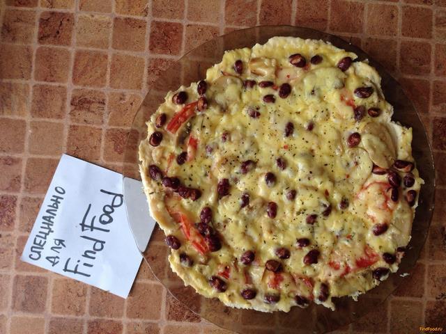 Рецепт Пицца с основой из курицы рецепт с фото