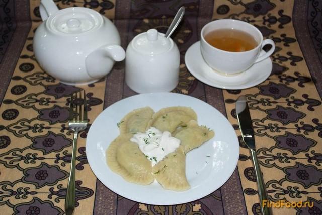 Рецепт Вареники с картофелем и укропом рецепт с фото