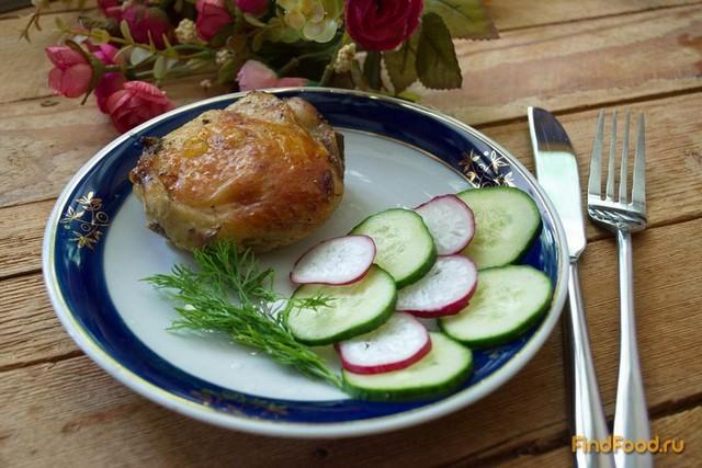 Рецепт Куриные бедра в мадере запеченные в духовке рецепт с фото