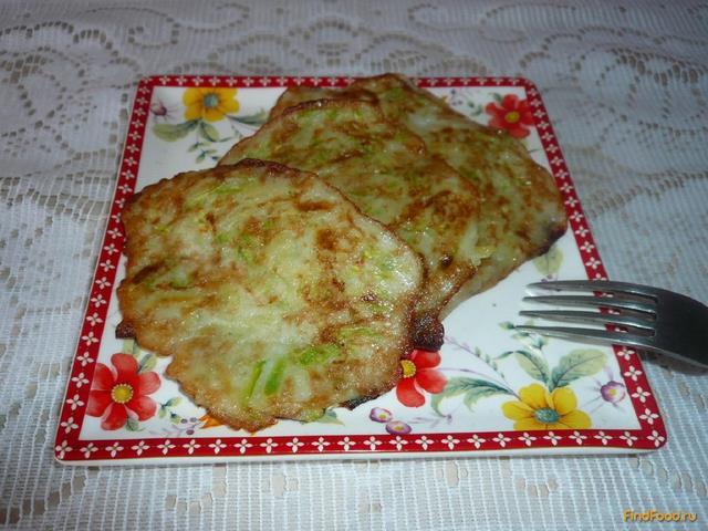 Рецепт Оладьи из картофеля и кабачка без муки рецепт с фото