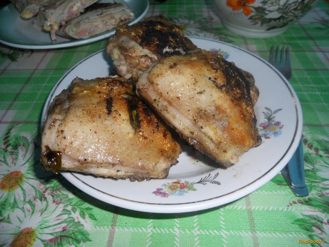 Рецепт Куриные бедра в маринаде с эстрагоном рецепт с фото