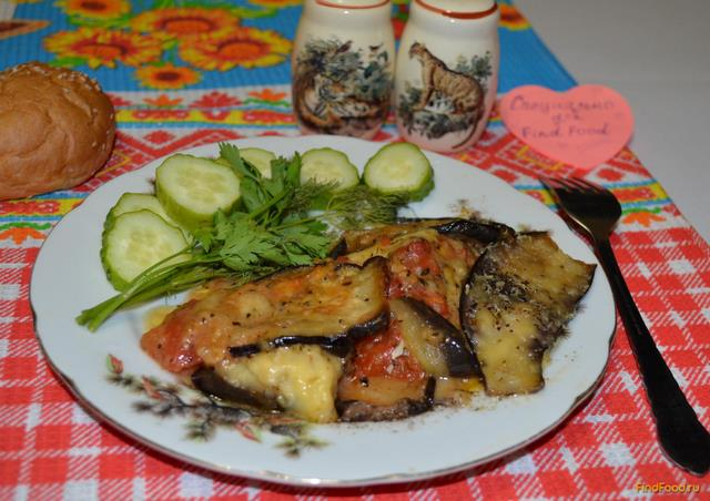 Рецепт Запеканка из баклажанов по-итальянски рецепт с фото