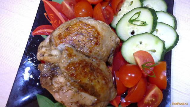 Рецепт Жареные куриные бедра рецепт с фото