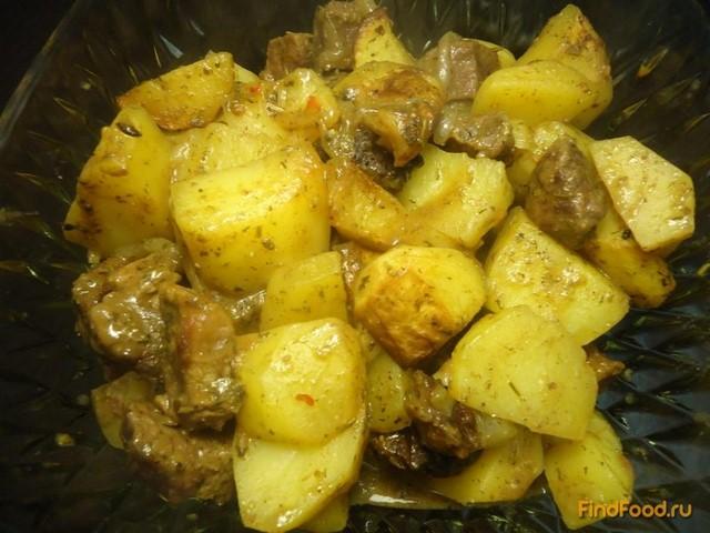 Рецепт Ароматное жаркое из говядины рецепт с фото