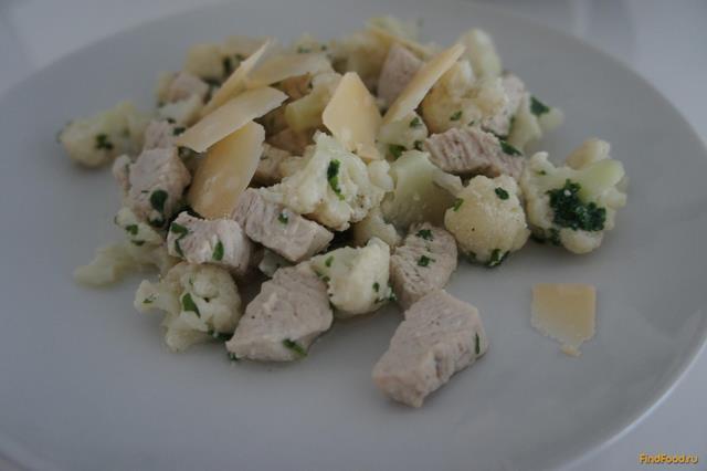 Рецепт Куриное филе с цветной капустой рецепт с фото