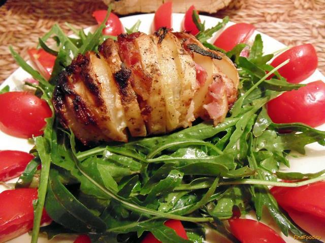 Рецепт Картошка-гармошка рецепт с фото
