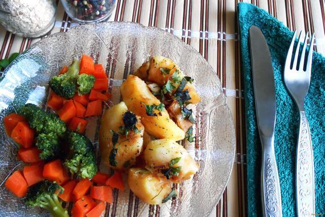 Рецепт Картофель в соевом соусе рецепт с фото