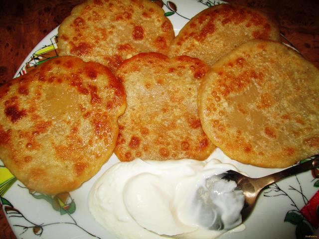 Рецепт Ароматные блинчики на тесте без яиц рецепт с фото