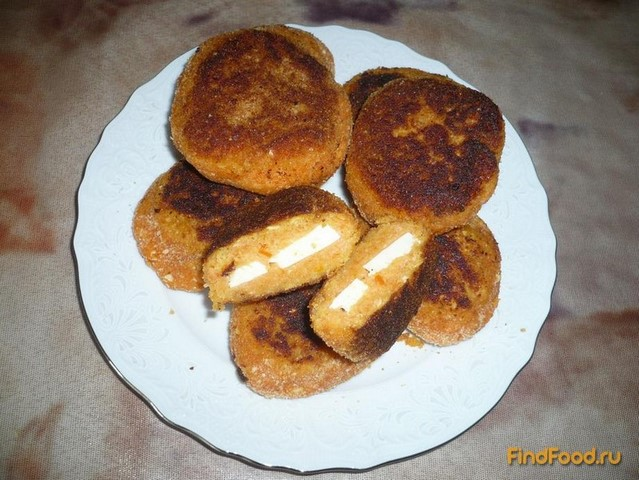 Рецепт Чечевичные котлетки с тофу рецепт с фото