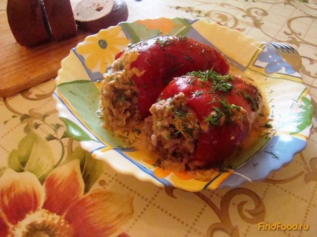Рецепт Фаршированные перцы по-домашнему рецепт с фото