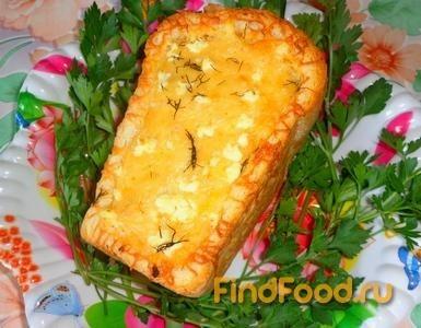 Рецепт Белый хлеб запеченный с овощами рецепт с фото
