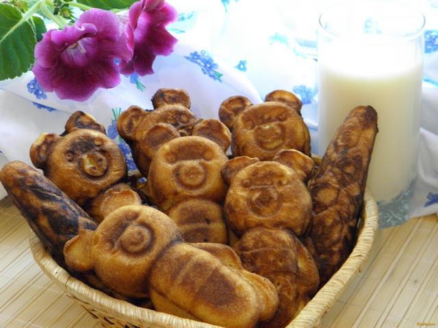Рецепт Печенье Мишки рецепт с фото