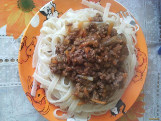Рецепт Спагетти с мясным соусом Болоньезе рецепт с фото