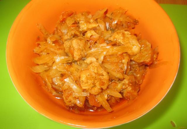 Рецепт Капустная солянка со свининой рецепт с фото