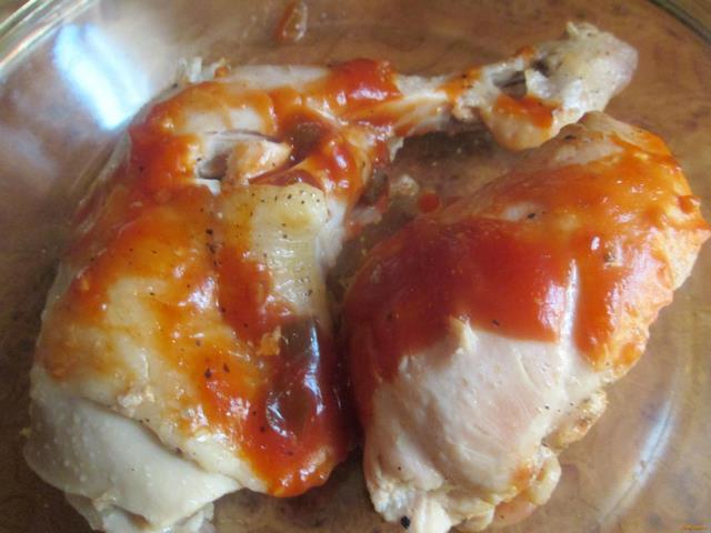 Рецепт Жареная курица рецепт с фото