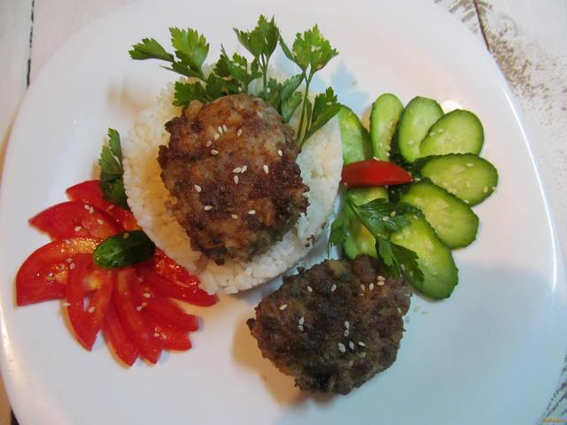 Рецепт Рубленые котлеты из говядины рецепт с фото