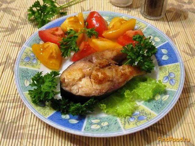 Рецепт Толстолобик жареный со свежими помидорами рецепт с фото