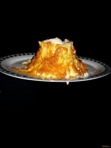 Рецепт Картофельное пюре-Вулкан рецепт с фото