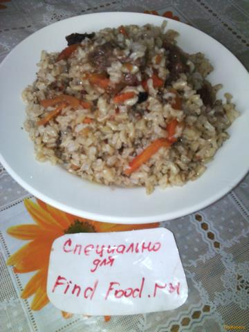 Плов с бурым рисом рецепт с фото 7-го шага