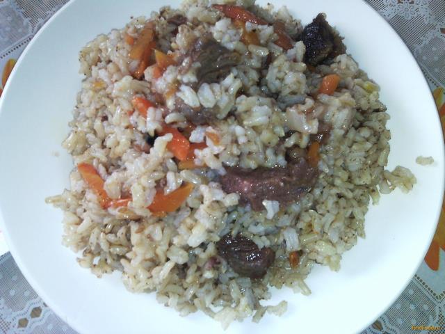 Рецепты с коричневым рисом