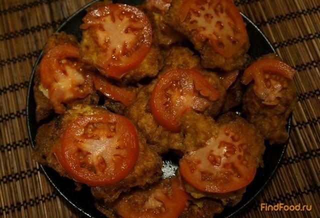 Рецепт Свиные отбивные с чесноком и помидорами рецепт с фото