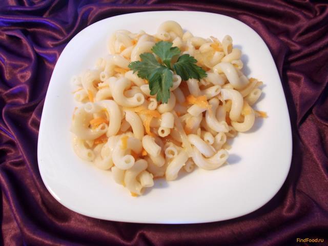 Рецепт Макароны спиральки с марковью и томатом рецепт с фото