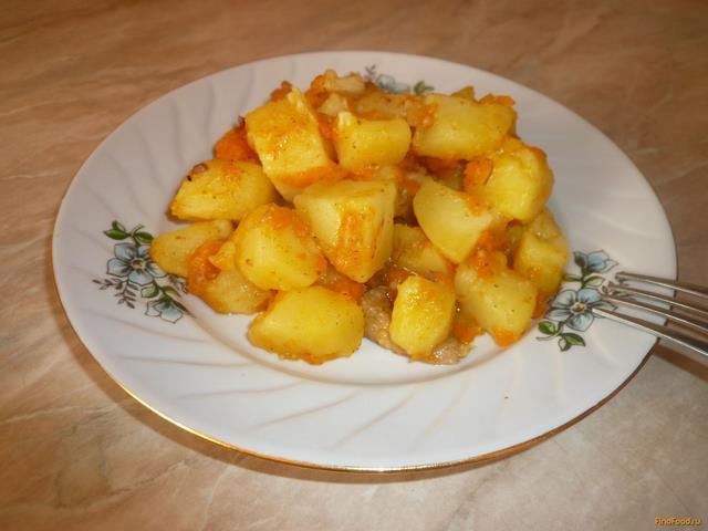 Рецепт Картофель по-домашнему рецепт с фото