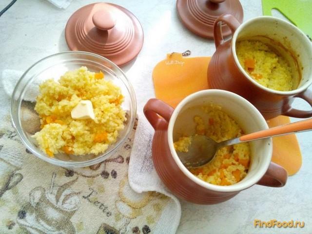 Рецепт Каша с тыквой в горшочке рецепт с фото