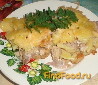 Рецепт Запеканка с картофелем и крекером рецепт с фото