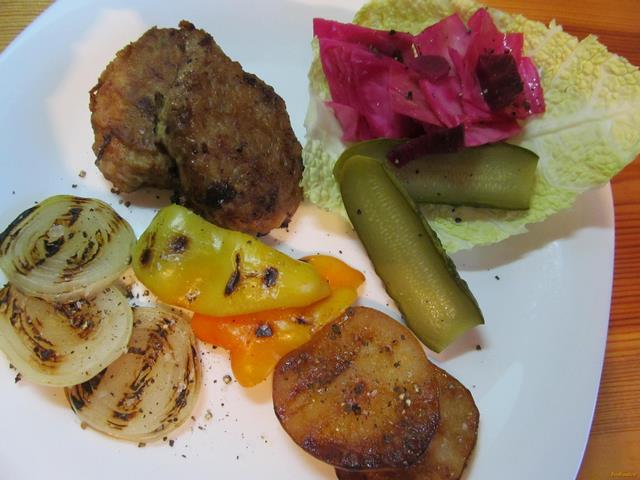 Рецепт Котлеты из баранины с сыром рецепт с фото