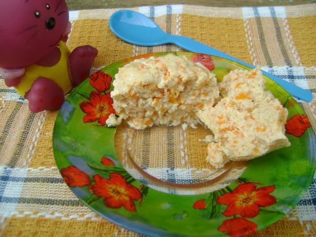 Рецепт Детское мясное суфле на пару рецепт с фото