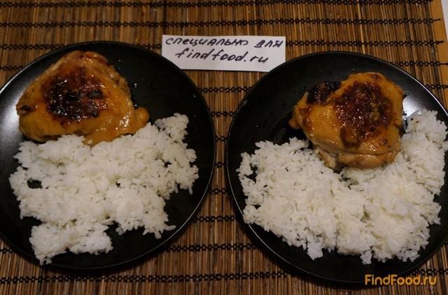 Рецепт Жареная курица с чесноком рецепт с фото
