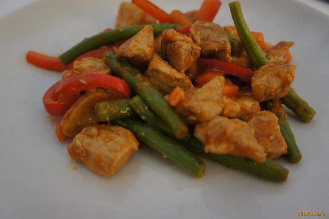 Рецепт Свинина с овощами в соусе рецепт с фото